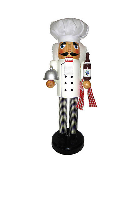 "Santa's Workshop 14"" Chef Nutcracker"