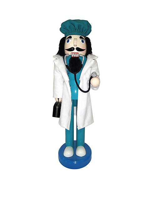 "Santa's Workshop 14"" Doctor Nutcracker"