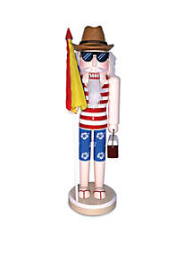 14-inch Day at the Beach Nutcracker