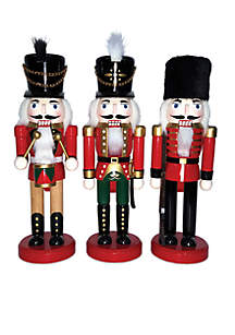 12I-Inch The Kings Guards Nutcrackers