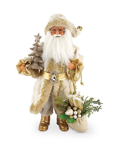 Santa's Workshop 15-inch Golden Splendor Claus