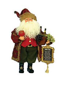 Wine Master Santa