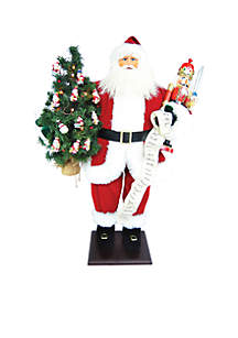 36-in. Traditional Santa With Nutcracker