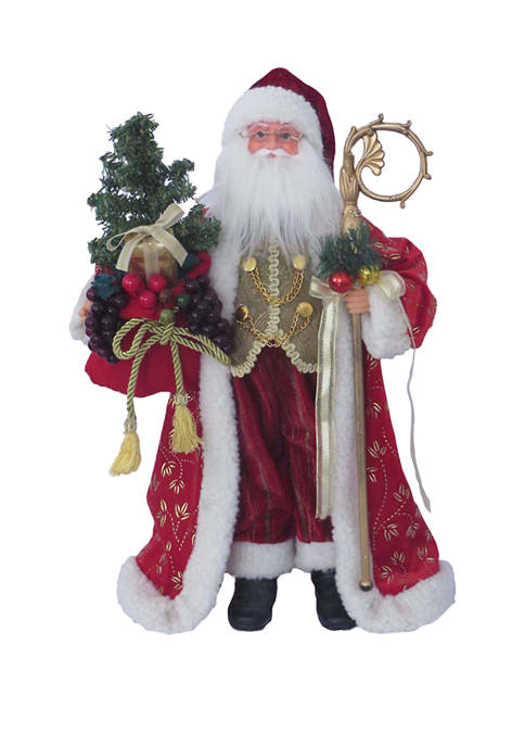 18 Inch Red Victorian Claus