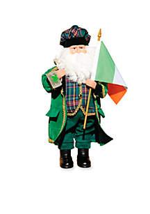 15-in. Irish Santa