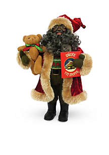 15-inch African American Story Time Santa