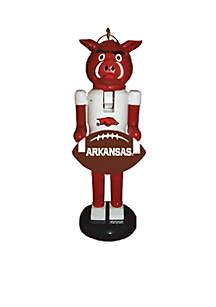 Arkansas Razorback Nutcracker Ornament