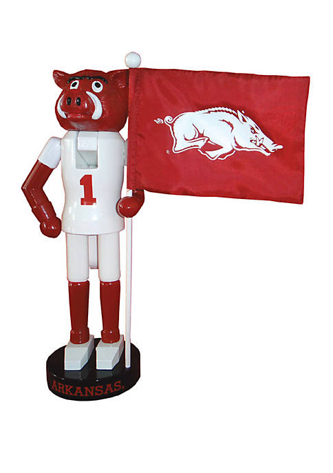 NCAA Arkansas Razorbacks Mascot Nutcracker