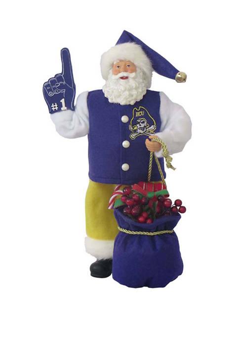 12 Inch East Carolina  #1 Santa