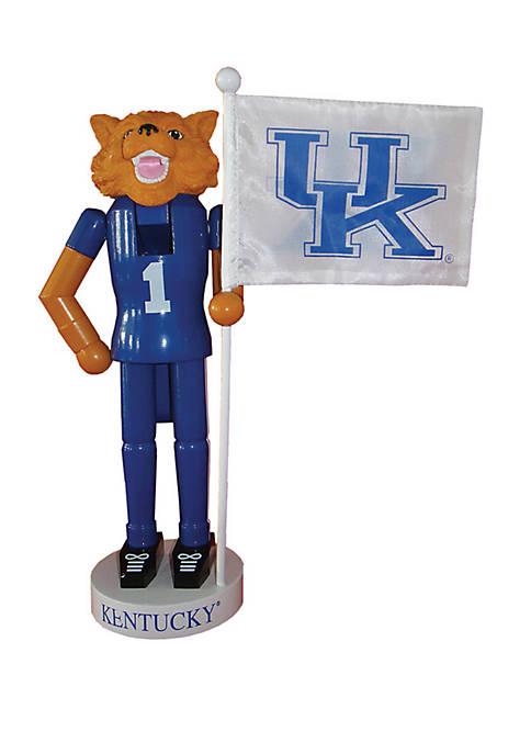 Santa's Workshop NCAA Kentucky Wildcats Mascot Nutcracker