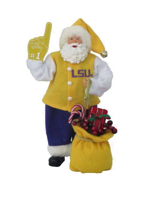 12 inch NCAA LSU Tigers #1 Santa