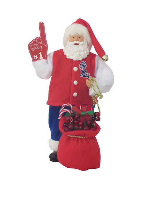 Santa's Workshop 12 inch NCAA Ole Miss Rebels
