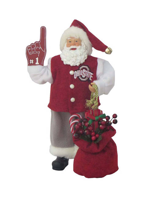 Santa's Workshop 12 inch NCAA Ohio State Buckeyes