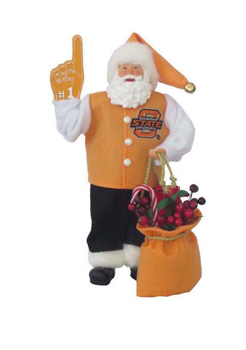 12 inch NCAA Oklahoma State Cowboys #1 Santa