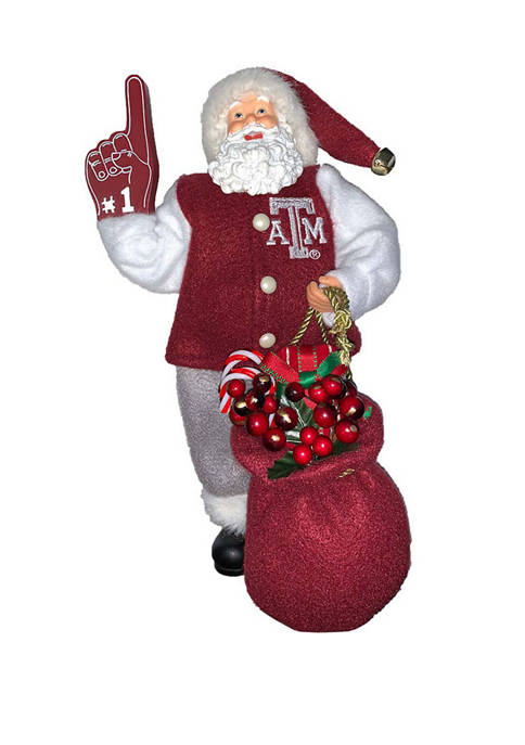 Santa's Workshop 12 inch NCAA Texas A&M Aggies