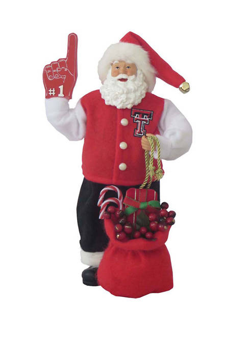 Santa's Workshop 12 inch Texas Tech Red Raiders