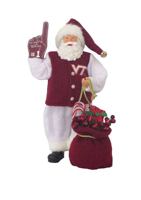 Santa's Workshop 12 inch NCAA Virginia Tech Hokies