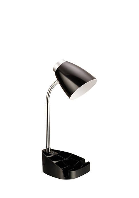 Limelights Gooseneck Organizer Desk Lamp