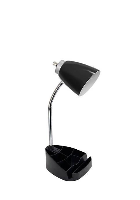 Limelights Organizer Desk Lamp Charging Outlet