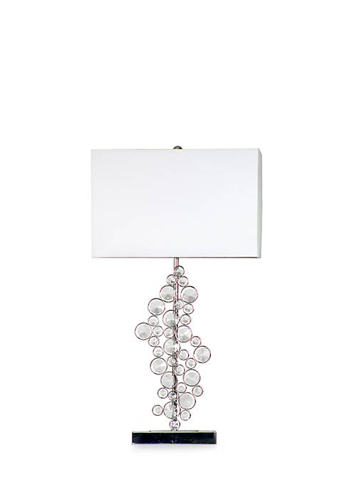 Prismatic Crystal Sequin Table Lamp