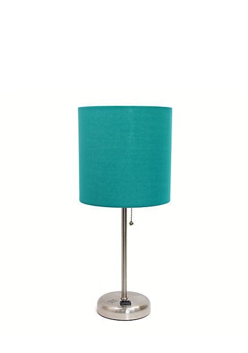 Limelights Stick Lamp With Charging Outlet