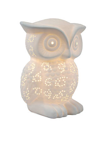 All the rages porcelain wise owl table lamp belk all the rages porcelain wise owl table lamp aloadofball Image collections