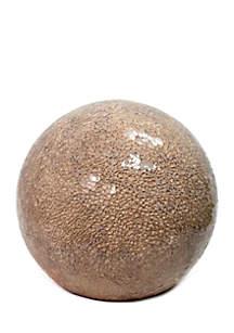 Stone Ball Table Lamp