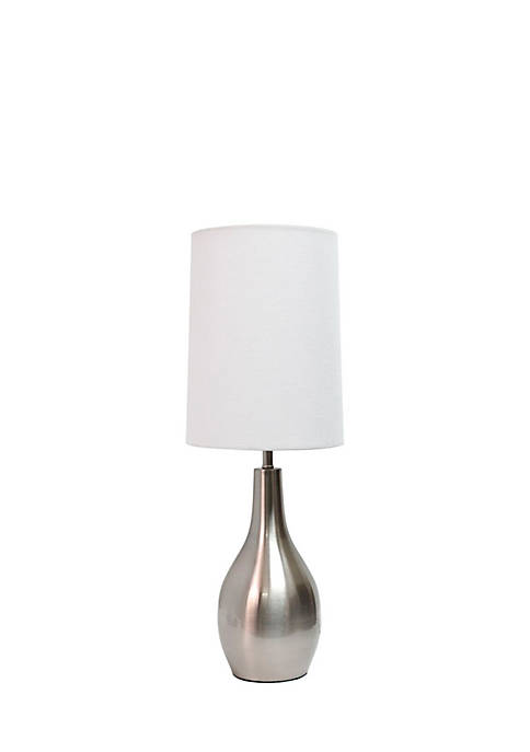 Simple Designs Tear Drop Table Lamp