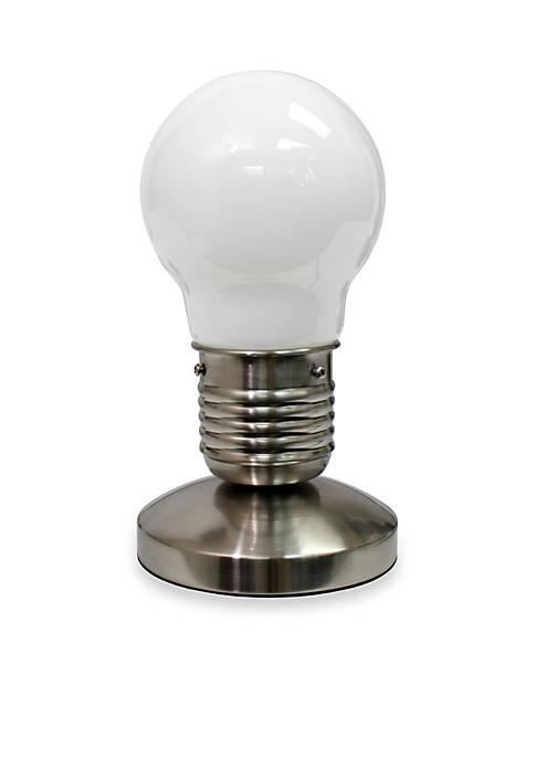 Edison Style Minimalist Idea Bulb Mini Touch Desk Lamp