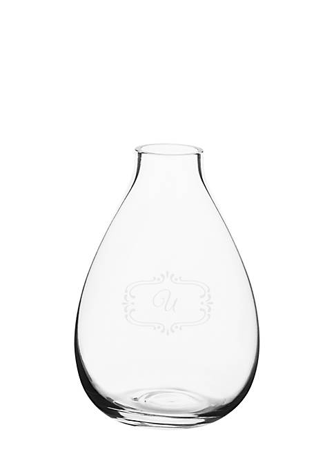 Cathy's Concepts Personalized Clear Bud Vase