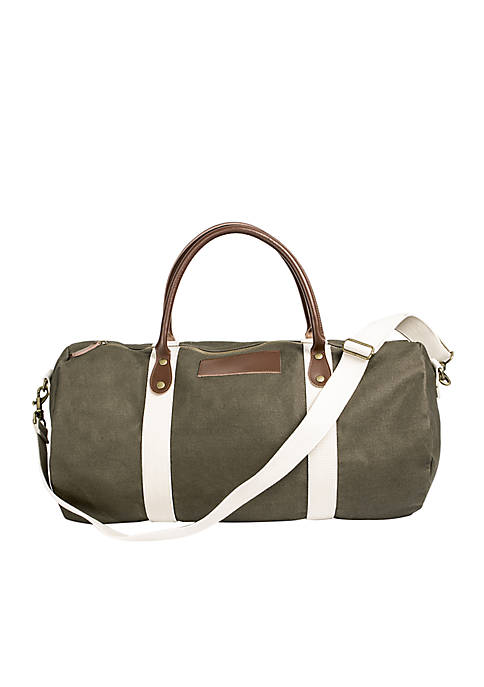 Cathy's Concepts Personalized Canvas Duffel Bag