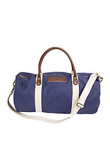 Cathy's Concepts Personalized Canvas Duffle Bag