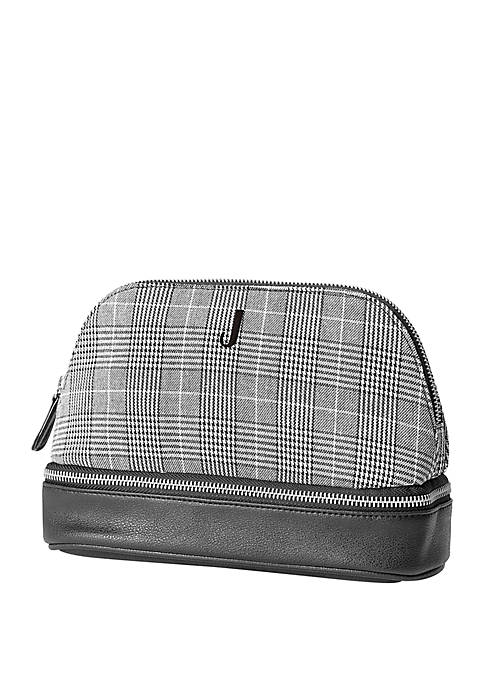 Personalized Glen Plaid Travel Case