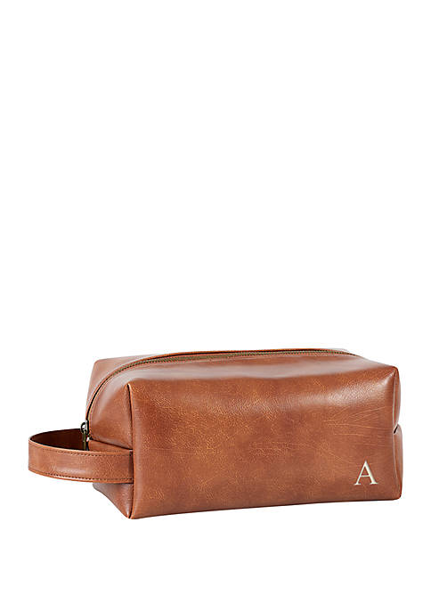 Cathy's Concepts Personalized Vegan Leather Dopp Kit