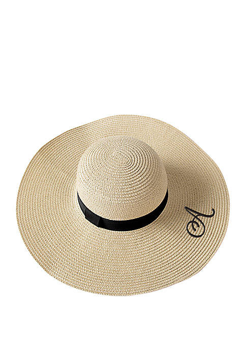 5a9bad8c0cb Cathy s Concepts Personalized Natural Straw Sun Hat