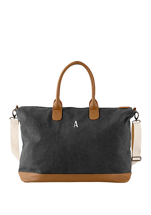 Personalized Washed Canvas Weekender