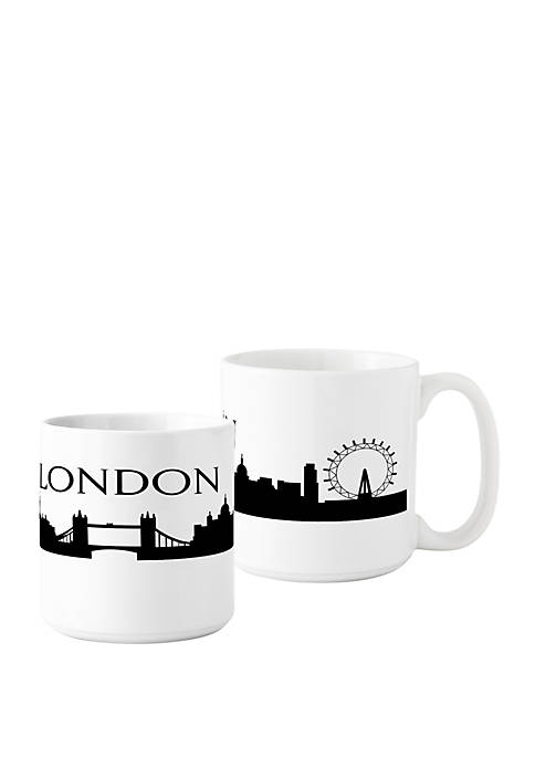 Cathy's Concepts Cityscape Coffee Mugs