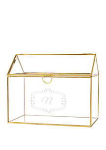 Cathy's Concepts Personalized Terrarium Card Holder