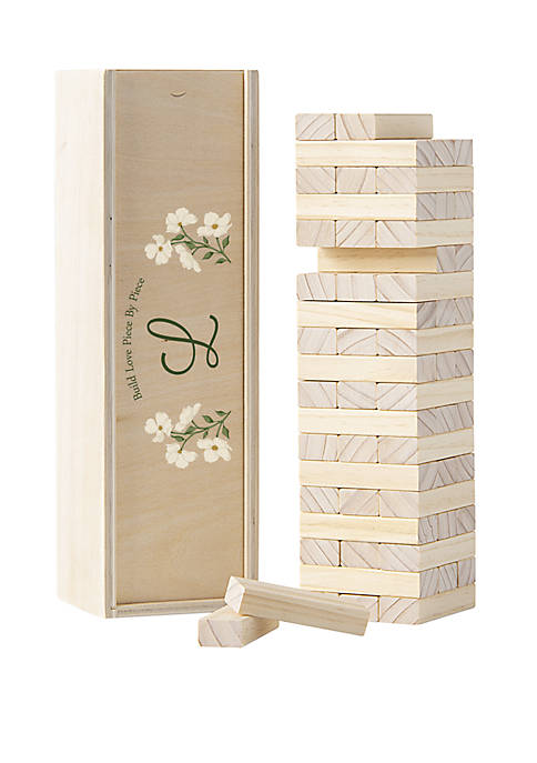 Cathy's Concepts Personalized Floral Building Block Guestbook