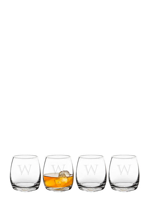 Cathy's Concepts Personalized 7 oz. Tipsy Whiskey Glasses