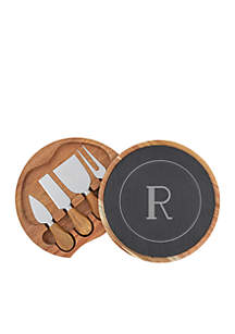 Personalized 5-Piece Cheese Board Set