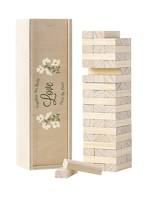 Cathy's Concepts Floral Building Block Wedding Guestbook