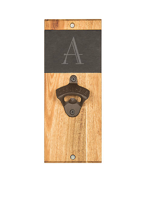 Cathy's Concepts Personalized Slate and Acacia Wall Mount