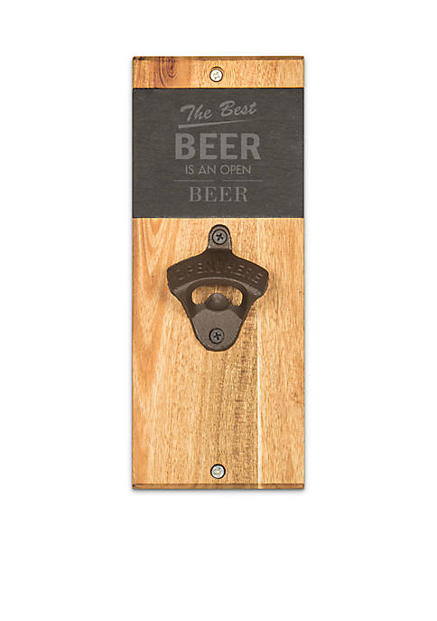 Cathy's Concepts Wall Mount Bottle Opener with Magnetic