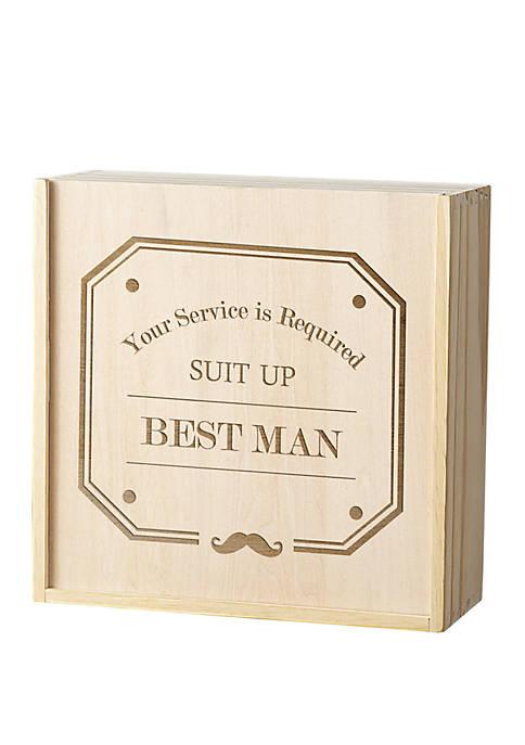 Cathy's Concepts Best Man Spirit Gift Box Set