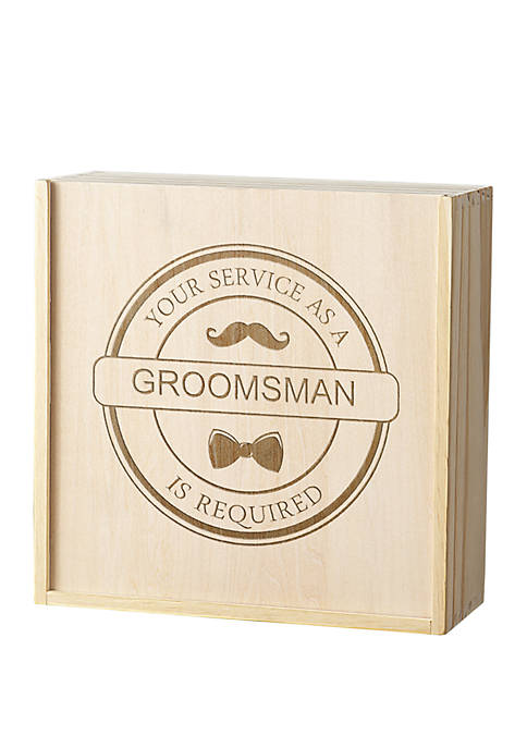 Cathy's Concepts Groomsman Craft Beer Gift Box Set