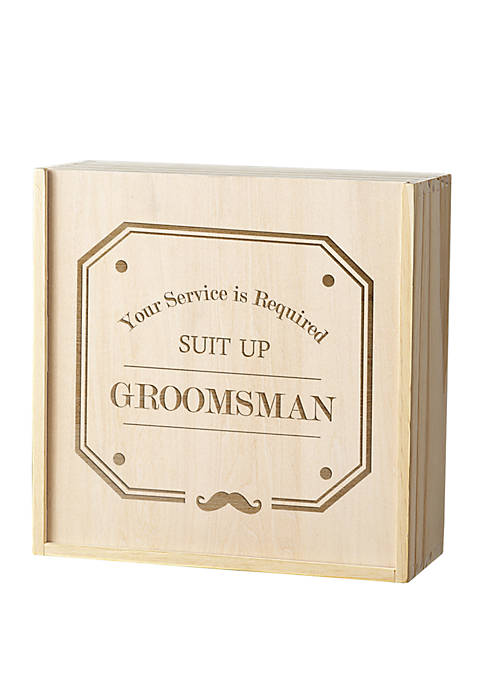 Cathy's Concepts Groomsman Spirit Gift Box Set