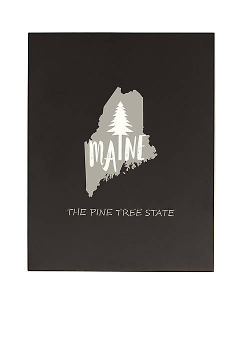 My State Chalkboard - Maine