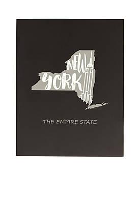 My State Chalkboard - New York