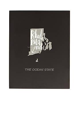 My State Chalkboard - Rhode Island